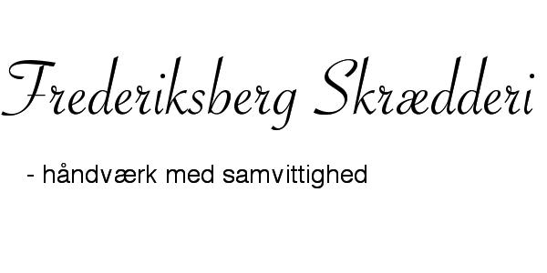 Frederiksberg Skrædderi Logo